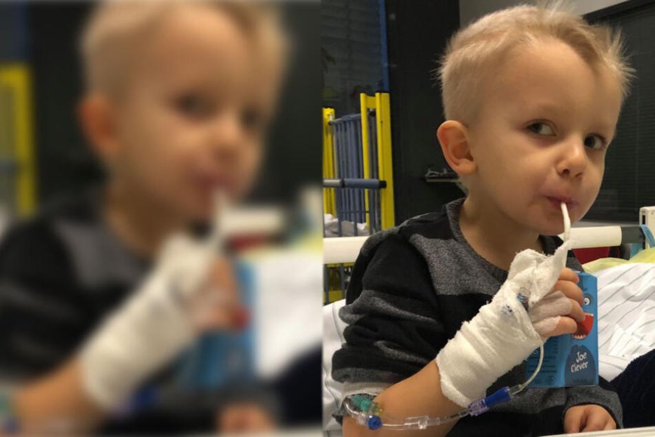 Ärzte wollten Sammy nicht behandeln! Jetzt kämpft er um sein Leben