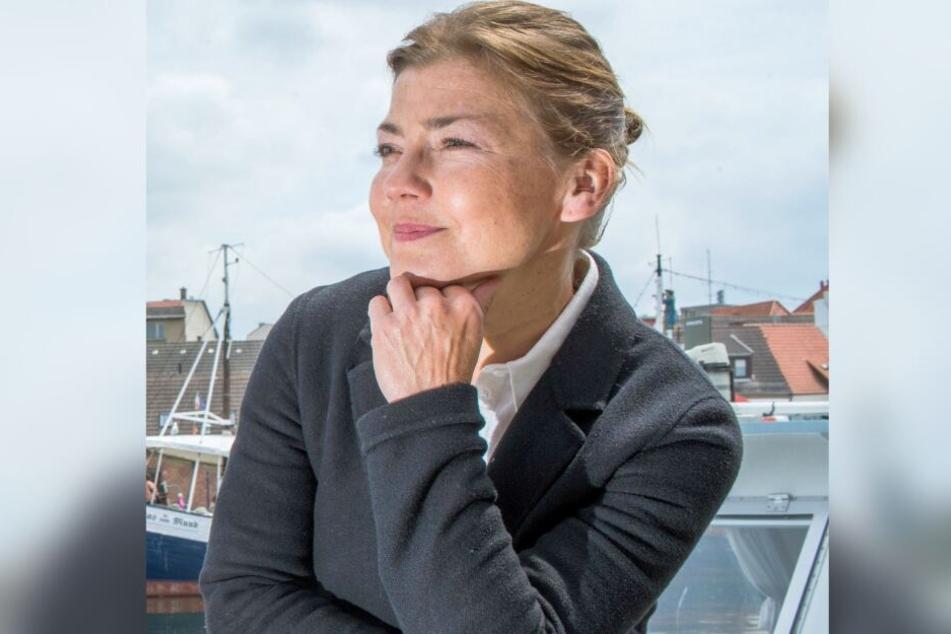 """Claudia Schmutzler spielt die neue Hauptrolle bei """"Rote Rosen""""."""