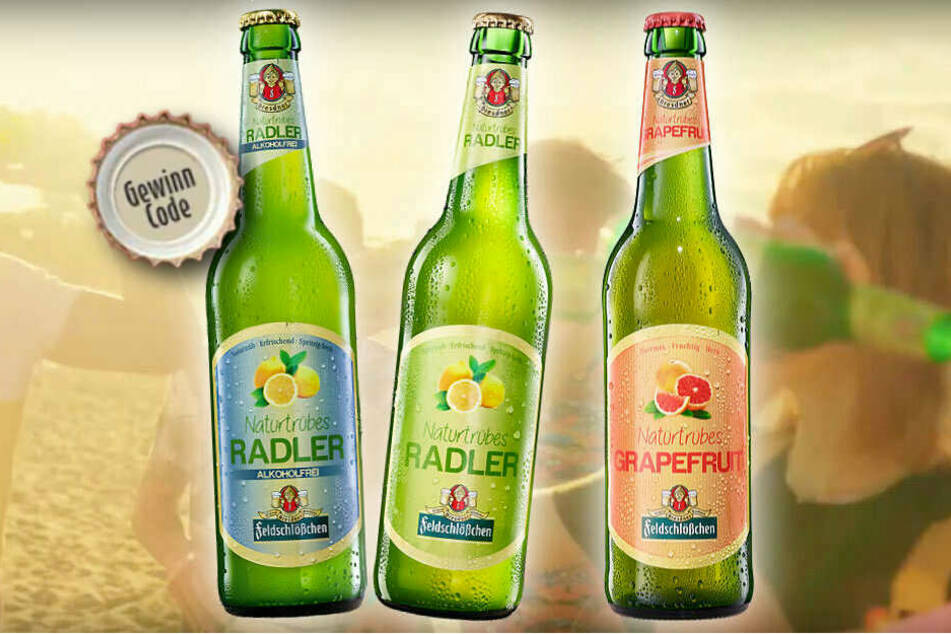 Hier findet Ihr die Gewinn-Codes: Feldschlößchen Radler, Radler alkoholfrei und Grapefruit (0,5l Flaschen)