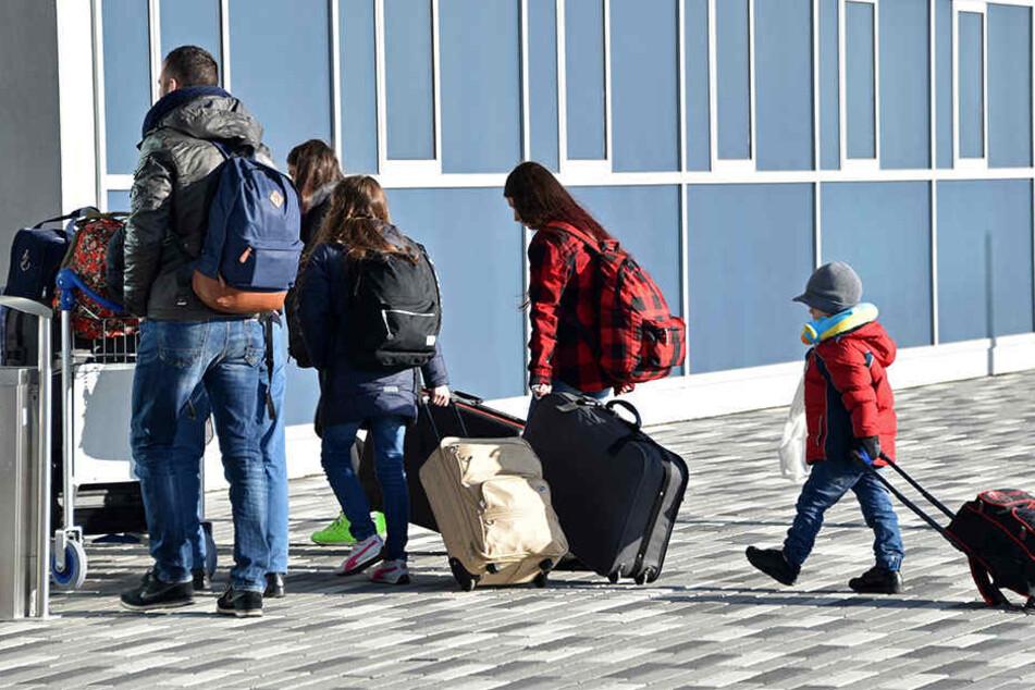 Viele Ausländer gehen freiwillig wieder in die Heimat.