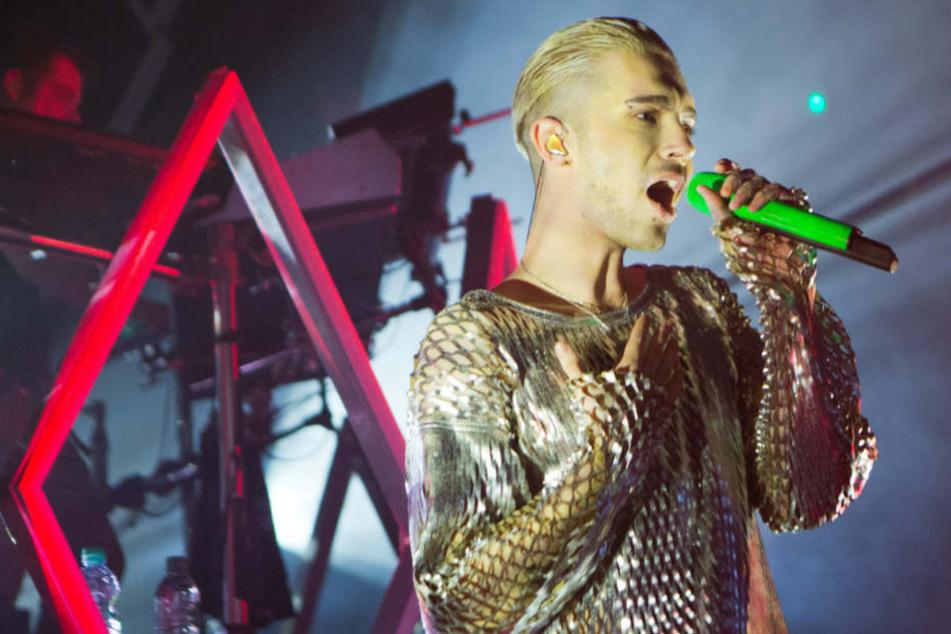 Sänger Bill Kaulitz (28) freut sich auf die Fans und das Camp-Abenteuer.