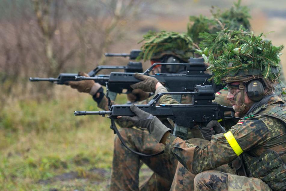 Interessante Idee, aber in Deutschland nicht erlaubt: Die Armee hilft beim Jagen.