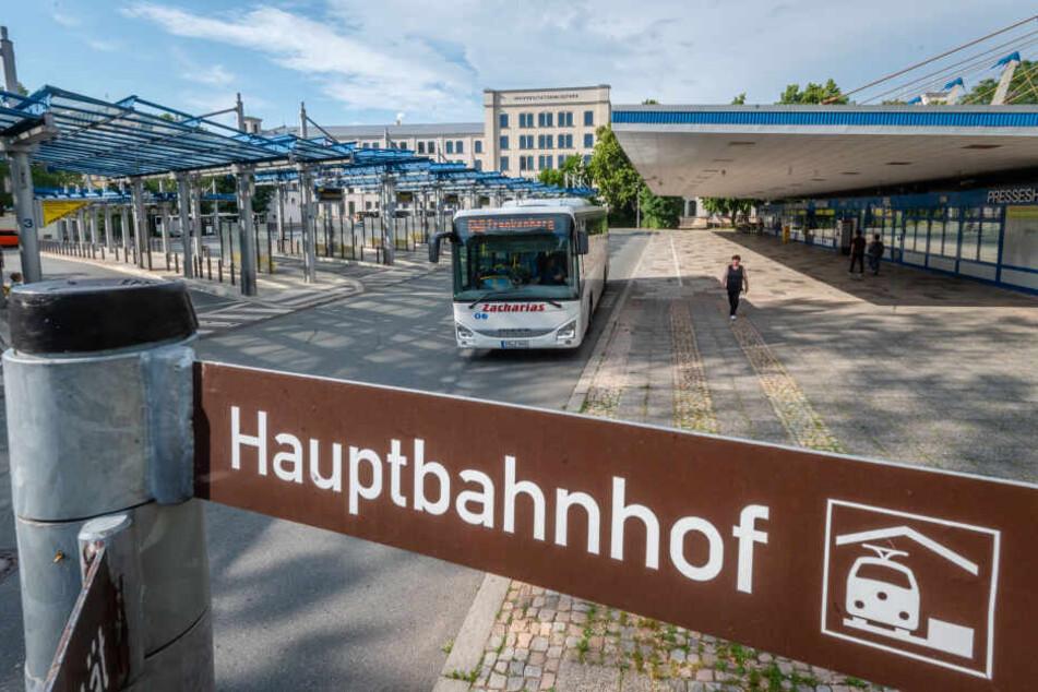 Der Omnibusbahnhof soll zum Hauptbahnhof verlegt werden.