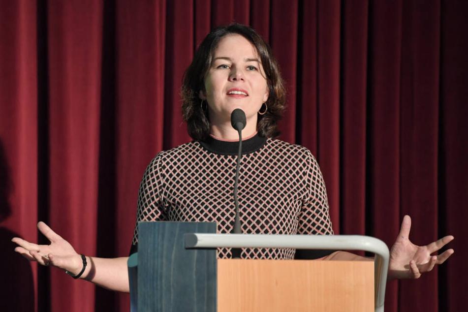 Auch Bundesvorsitzende Annalena Baerbock wird eine Rede halten.
