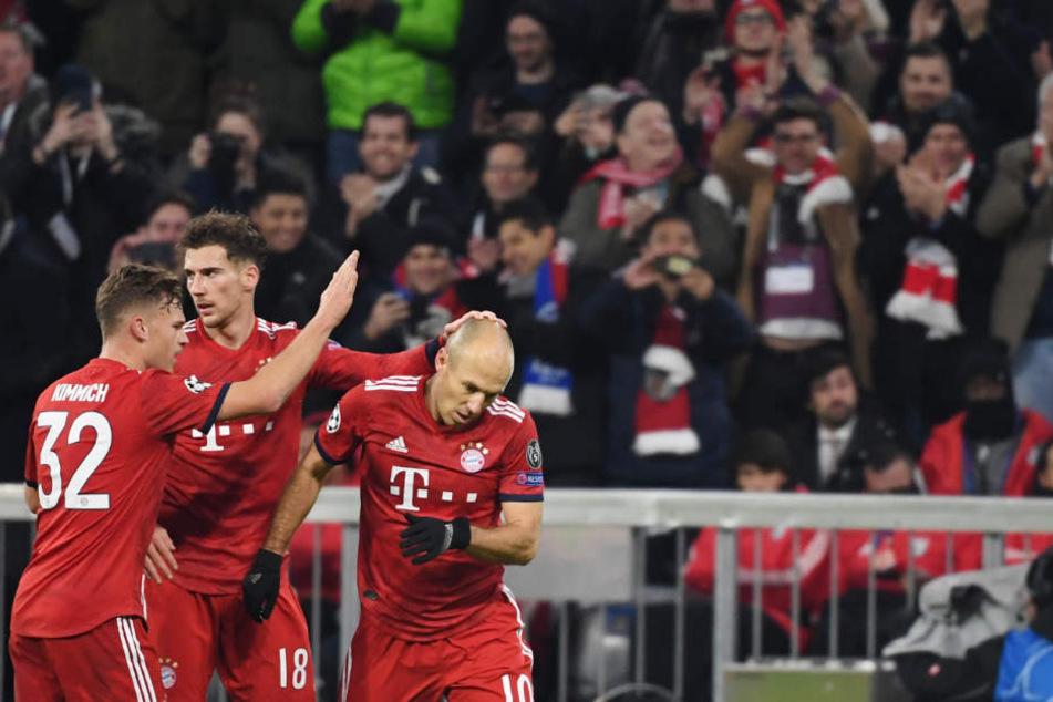 Gegen Benfica Lissabon zeigte der FC Bayern eine überzeugende Leistung.