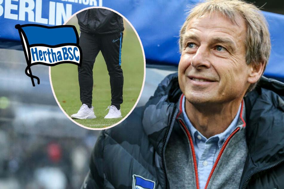 Klinsmann schafft die Jogginghose ab: Hertha reist mit Stil