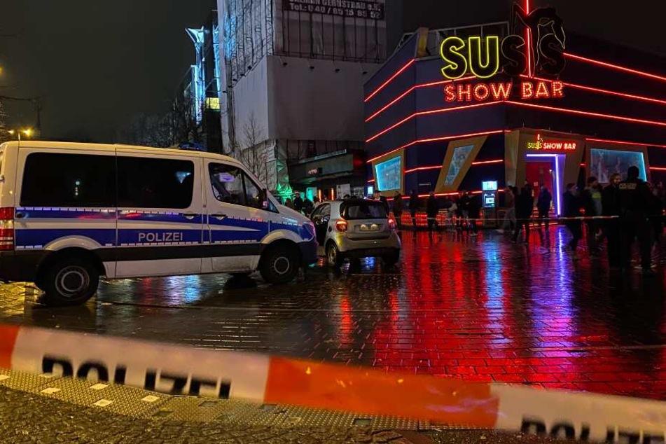 Auf dem Beatles-Platz konnte die Polizei den Fahrer stoppen.