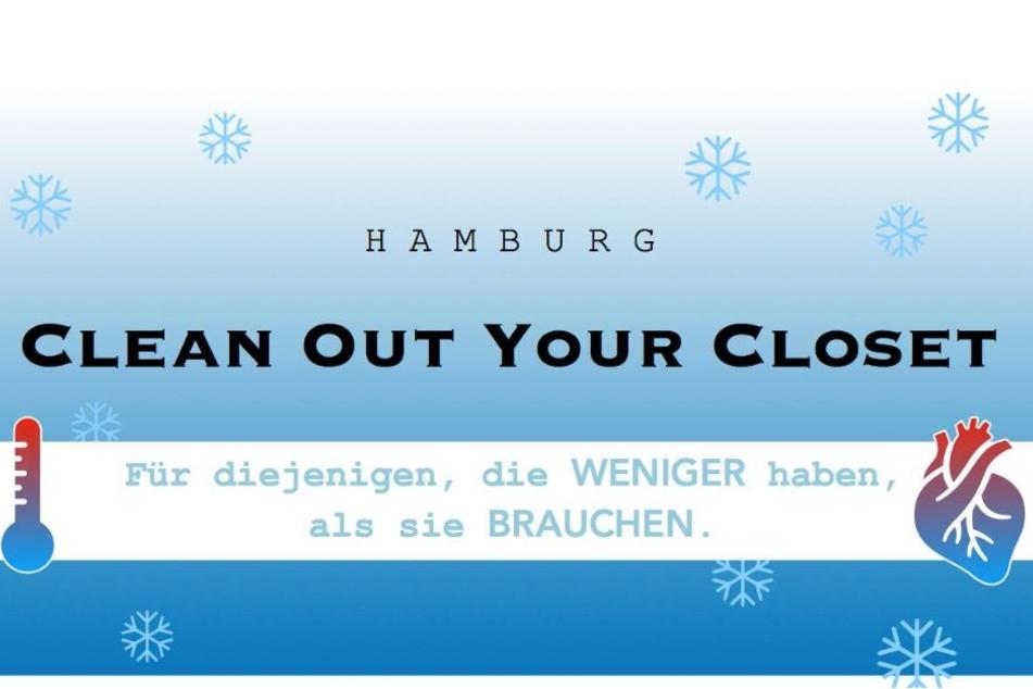 """Anstatt im Schrank zu liegen, könnte deine alte Winterjacke Leben retten – denk mal drüber nach und gib sie vielleicht als Spende in dem Ottensener Waschsalon/Café """"Laundrette"""" ab."""