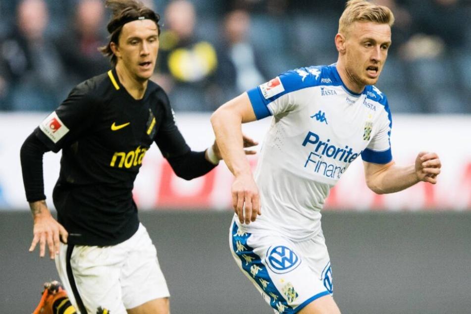 Sebastian Olsson (r) kommt vom IFK Göteborg.