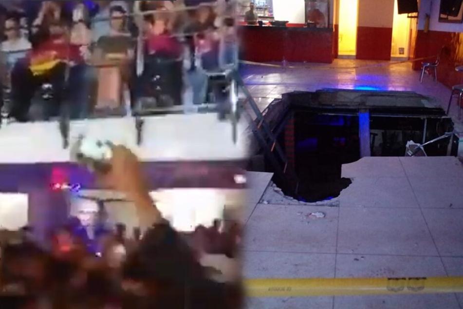 Schock bei Konzert: Tanzfläche bricht unter feiernder Menge zusammen