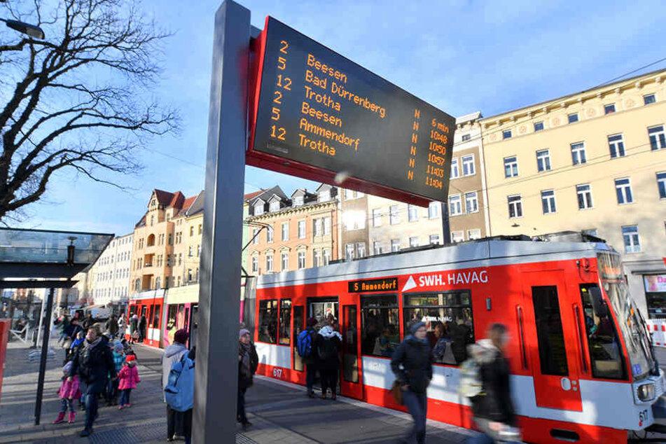 In kaum einer anderen deutschen Großstadt fährt man so günstig mit Bus und Bahn wie in Halle.
