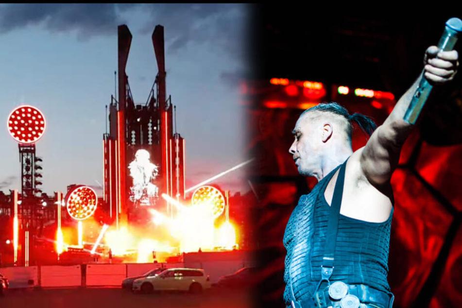 Ohne Feuer? Video von Rammsteins neuer Show aufgetaucht!