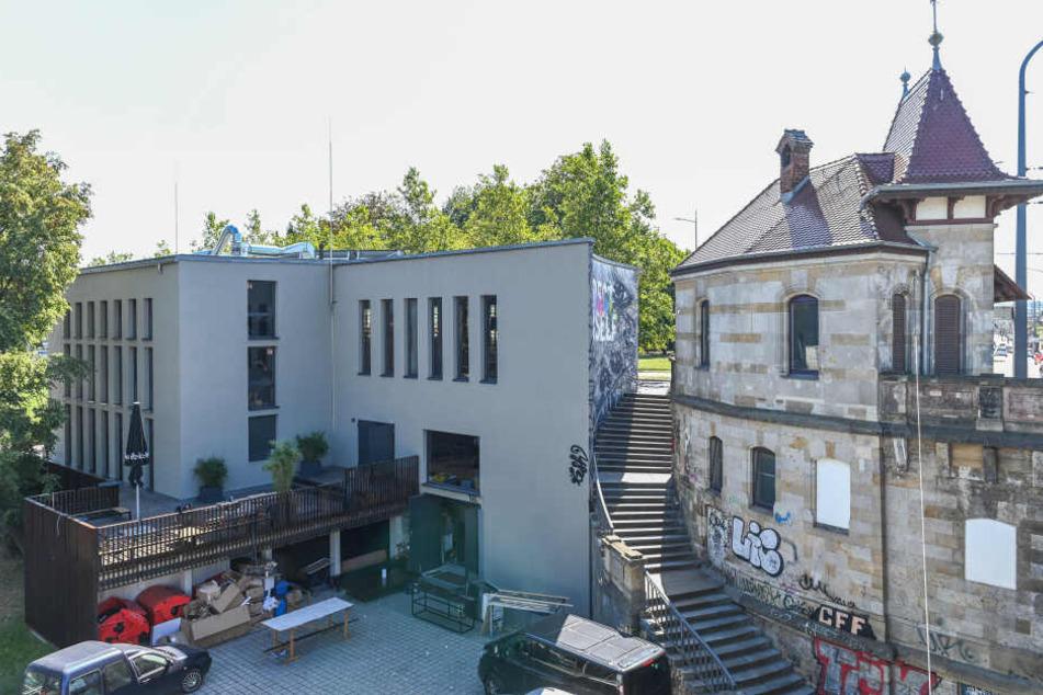 Das Pumpenhaus kurz vor seiner Neueröffnung im September.