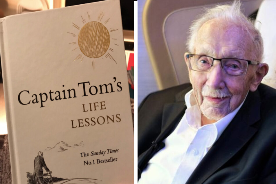 Captain Tom gives Life Lessons from a 100-year-old in a new book published after his death