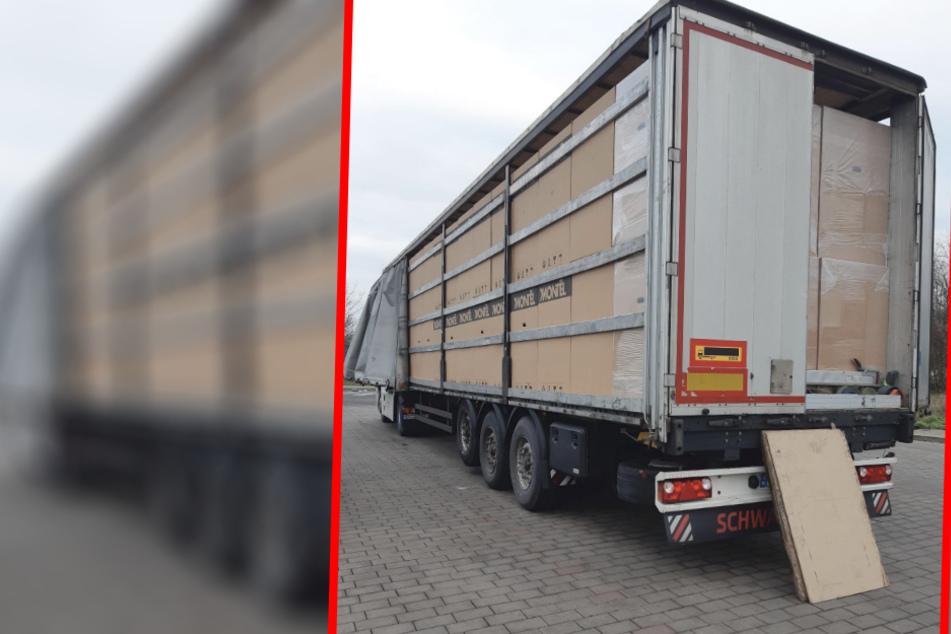 Zweiter Vorfall in einem Monat: Wieder eingeschleuste Migranten auf Lkw in Sachsen-Anhalt entdeckt