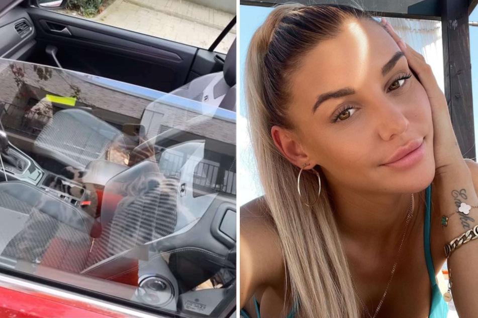 """Gerda Lewis: Gerda Lewis vor offenem Cabrio: """"Komme nicht ans Auto, weil es abgeschlossen ist"""""""
