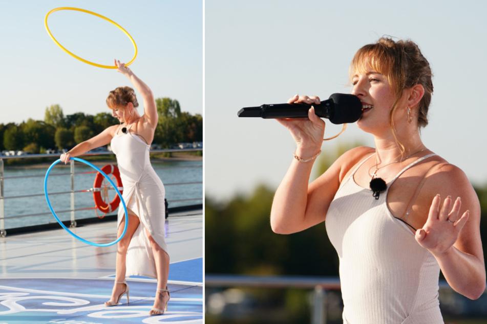 Cecile Marie Sperlich (24), Akrobatin im Zirkus Moreno aus Sachsen-Anhalt.