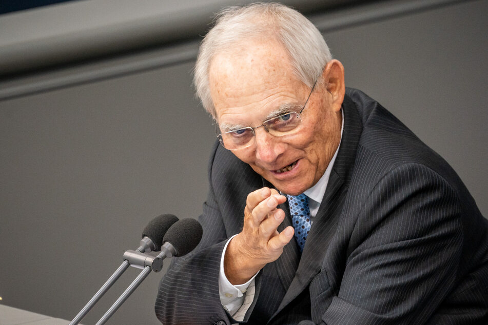 Bundestagspräsident Wolfgang Schäuble (77).