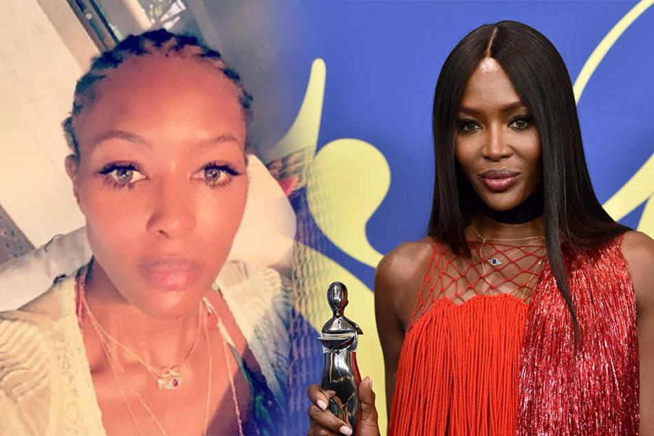 Kaum Wiederzuerkennen Naomi Campbell Zeigt Sich Ohne Perücke