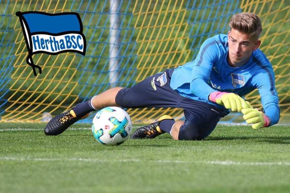 Klinsmann erstmals die Nummer 1 im Hertha-Tor