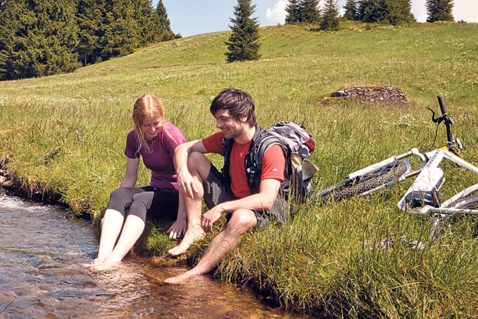 Landschaft mit Geschichte: Das Erzgebirge will als Tourismusdestination mit dem Welterbe-Titel national und international punkten.