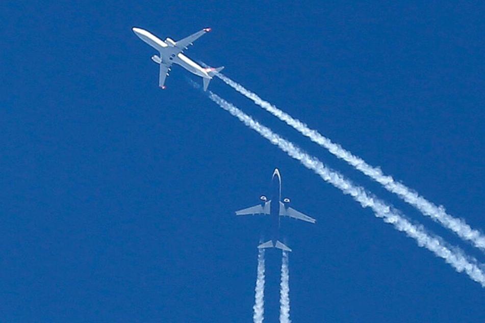 Erschreckende Zahlen: Mehr als 170 Beinahe-Zusammenstöße von Flugzeugen