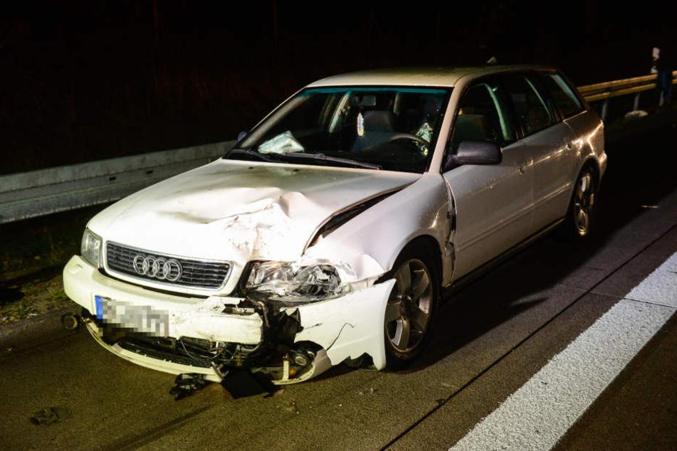 Auf der A9 in Richtung München kam es am Sonntagabend zu einem heftigen Unfall.