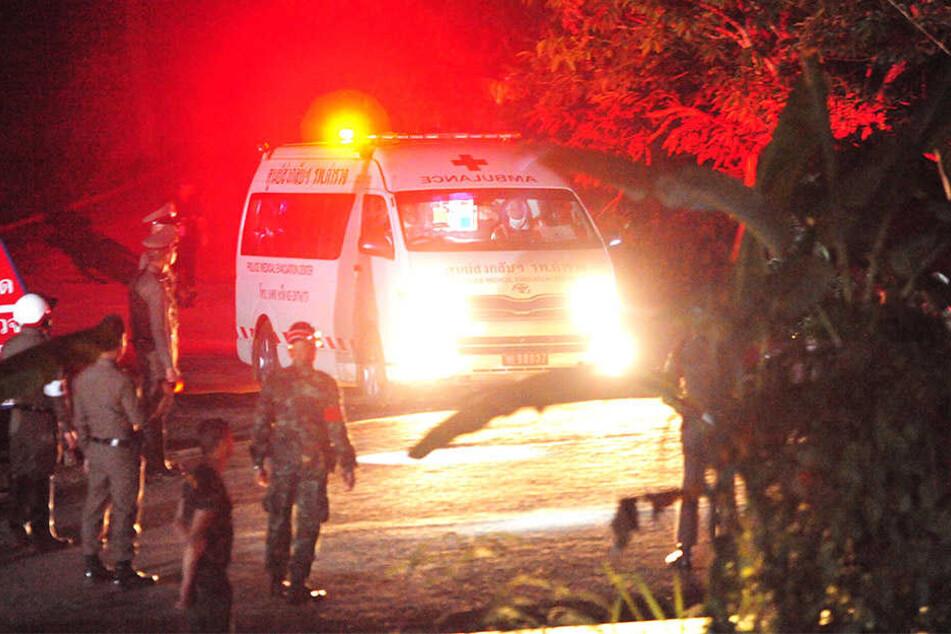 Die Rettungsmission in Thailand dauert an.