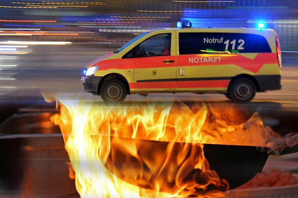 Essen in Flammen: Wohnungsbrand mit drei Verletzten