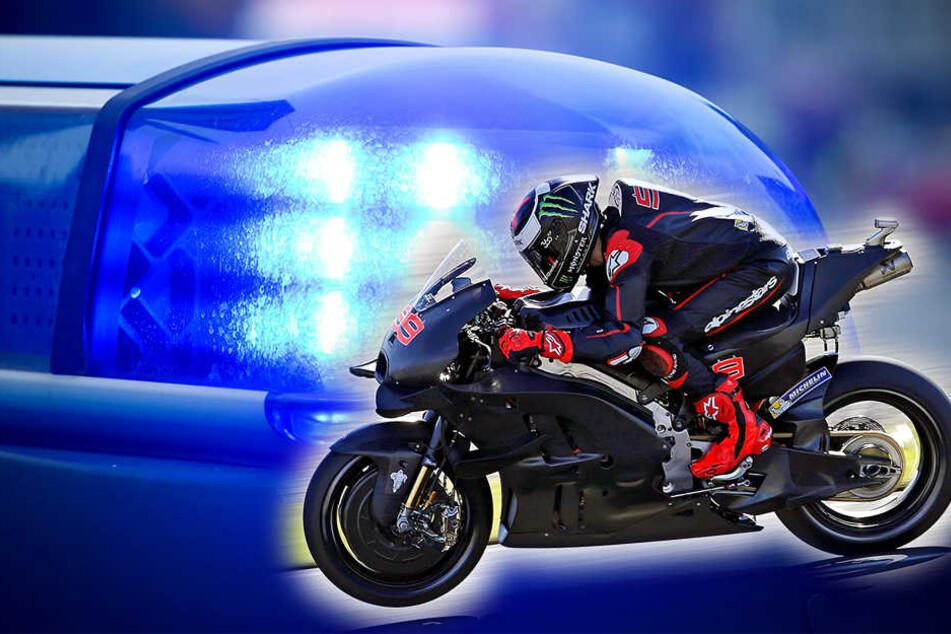 Mit schweren Verletzungen musste ein 60-jähriger Motorradfahrer ins Krankenhaus. (Symbolbild)