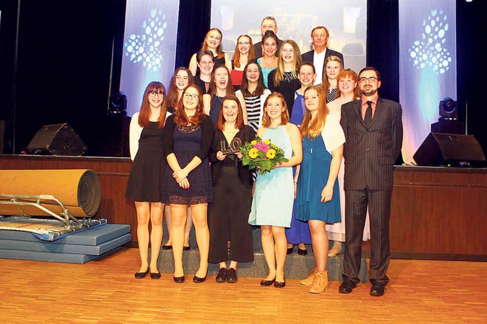 Sieg der Zukunft: Die C-Jugend-Handballerinnen des BSV Limbach-Oberfrohna/HV Chemnitz wurden Mannschaft des Jahres.