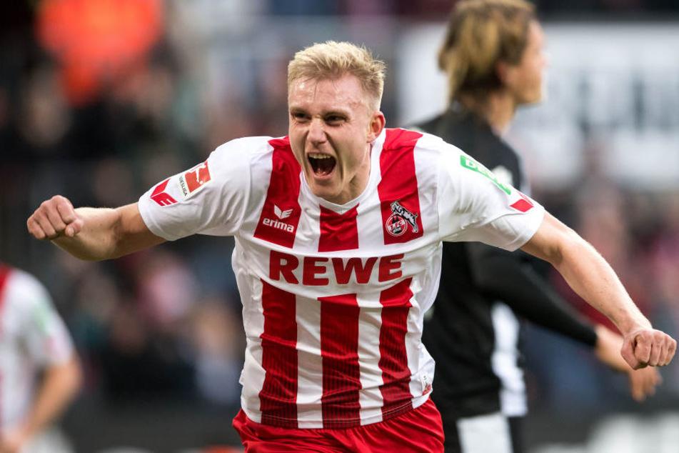 Frederik Sörensen (26) erzielte bisher zwei Tore in 81 Spielen für den 1. FC Köln (Archivbild).