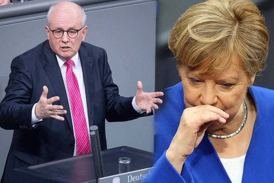 """Volker Kauder (67, CDU): """"Verfassungsklage gegen """"Ehe für alle"""" kommt sicher!"""" Ob Merkel (62, CDU), die dagegen gestimmt hat, damit schon kalkulierte?"""