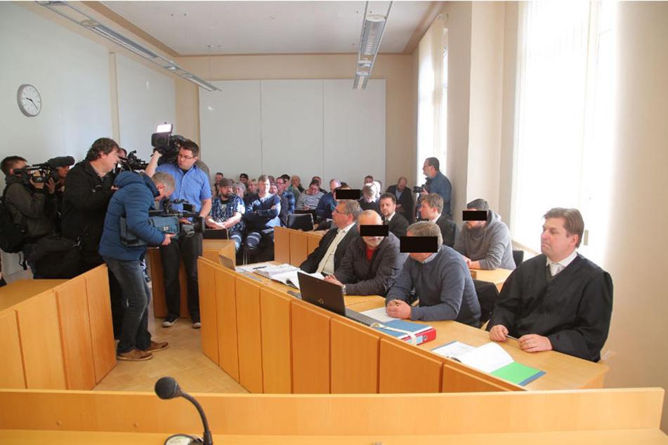Der Prozess in Kamenz wurde bereits nach knapp drei Stunden wieder eingestellt.