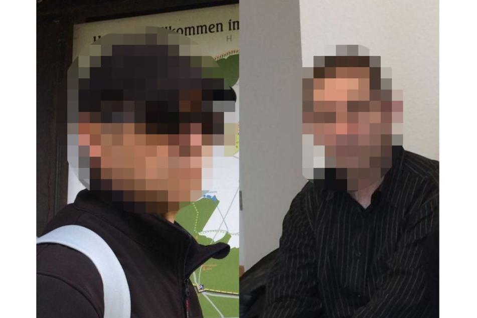 Mit diesen Bildern suchte die Polizei nach dem Vermissten.