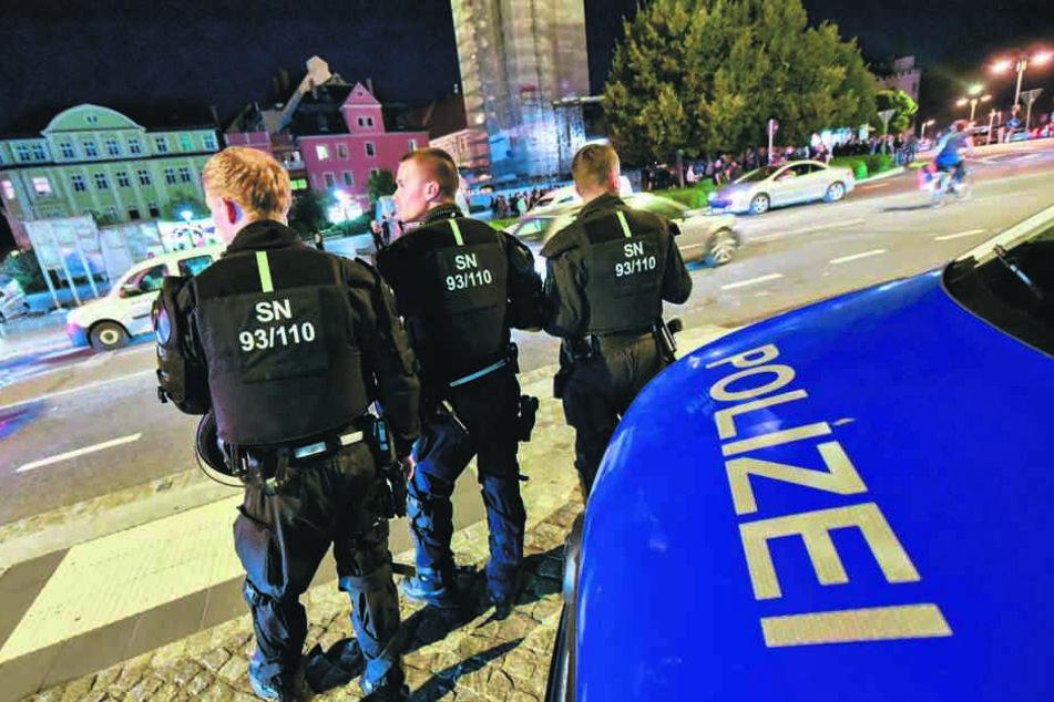 Mehr Polizei am Kornmarkt soll die Sicherheit in ganz Bautzen verstärken.