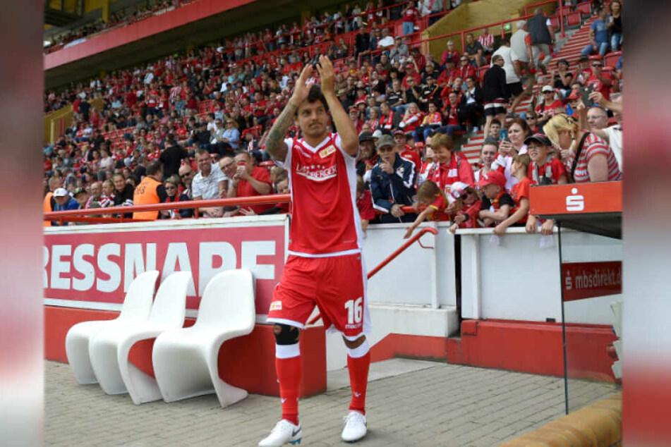 In seiner Zeit bei Union Berlin genoss Philipp Hosiner bei den Fans Kultstatus.