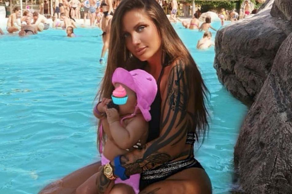 Schwesta Ewa mit ihrer Tochter Jeyla im Urlaub.