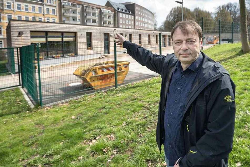 Stadtrat Thomas Lehmann (50, Grüne) fordert einen Stopp beim Flächenverbrauch.