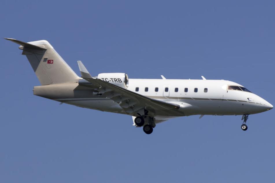In einer Maschine Typ Bombardier CL604 starben insgesamt elf Insassen.