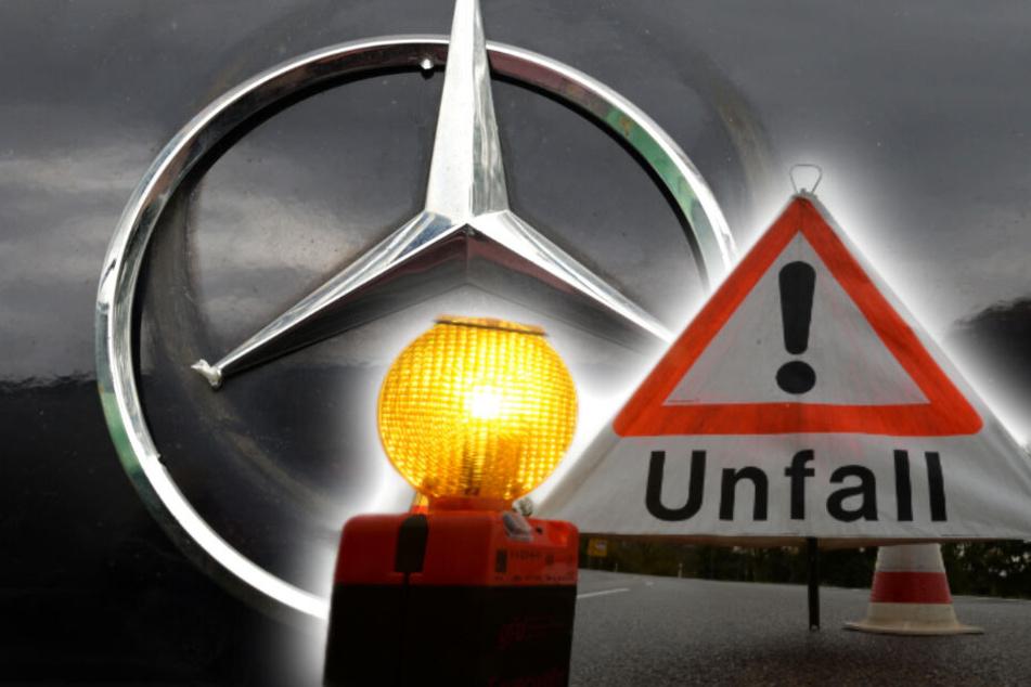 München: Unfall unter Mercedes-Fahrern: Schweizer lässt Münchner einfach stehen