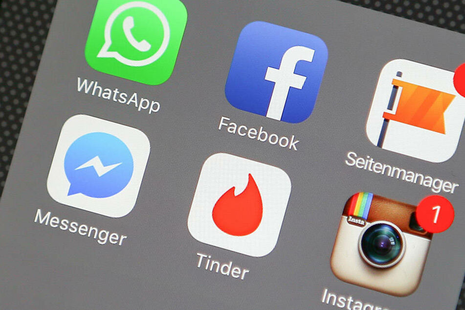 Mehr als zehn Millionen User nutzen die Tinder-App täglich.