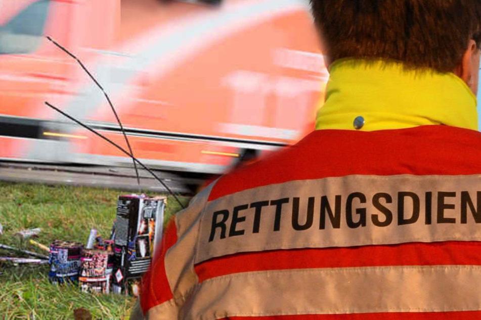Immer wieder kommt es zu Attacken auf Rettungssanitäter (Symbolbild).