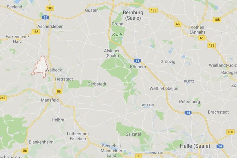 Die Ortschaft Sylda befindet sich im Landkreis Mansfeld-Südharz nahe Hettstedt.