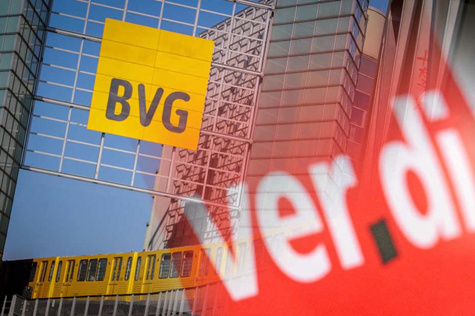 Die BVG weist alle Vorwürfe von sich ab. (Bildmontage)