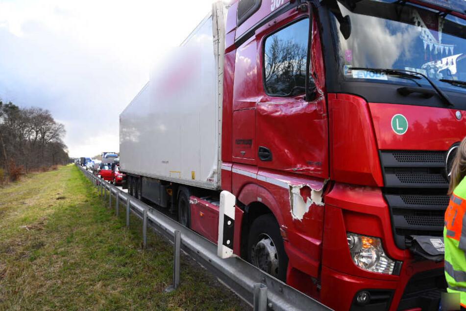 Nach dem Crash war die Autobahn dicht.