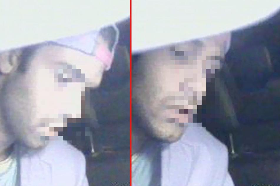 Beide Aufnahmen zeigen den Tatverdächtigen, der mehrere Taxifahrer in Bremen überfallen haben soll.