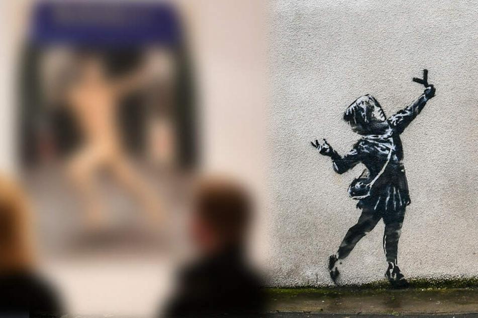 Das soll Banksy sein? Berliner Galerie lüftet Geheimnis!