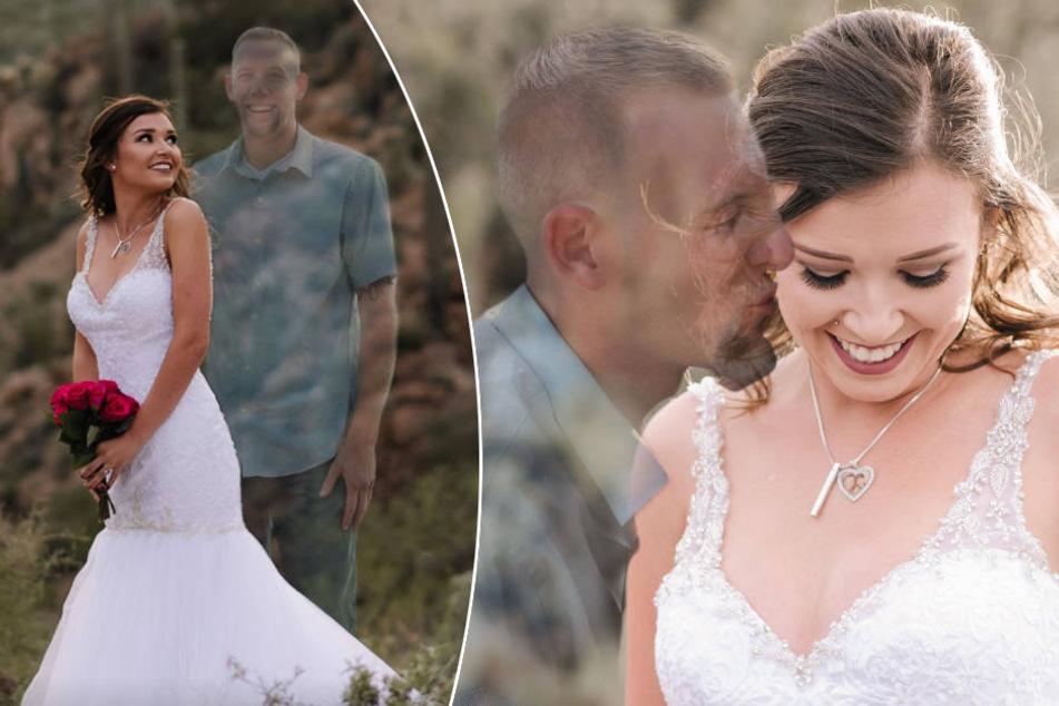 Verlobter stirbt vor Hochzeit: Braut macht diese emotionalen Fotos