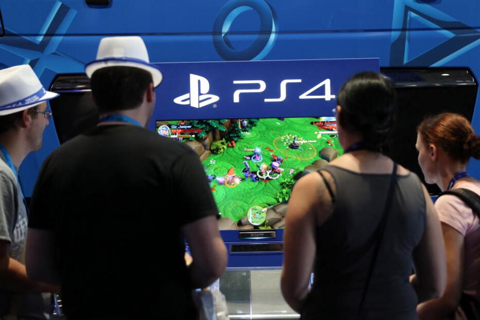 Auf der CES 2020 enthüllte Sony das Logo für den Nachfolger seiner PS4.
